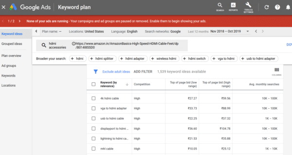How To Find Profitable Keywords in 2020 (With High CPC) 4