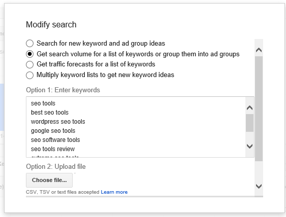 get-search-volume-for-list-of-keywords-keyword-planner