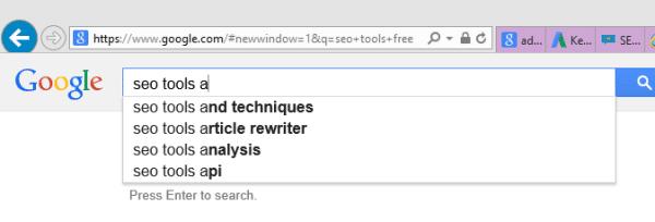 google-keyword-research-free