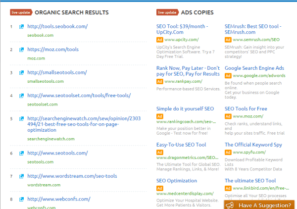 organic-search-results-semrush