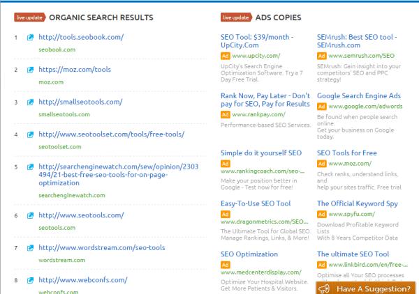 organic-search-results-semrush