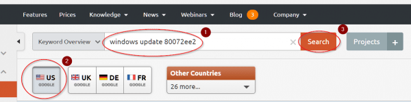 using base keyword in semrush to get better seo ideas to increase website traffic