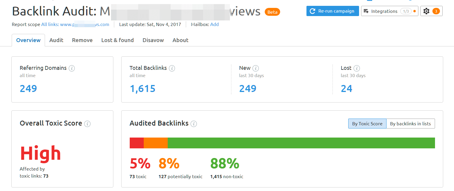 How Toxic Backlinks can Effect your Adsense Earnings ?