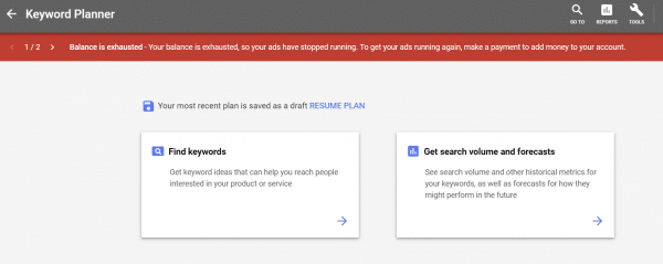 """How to use Keyword Planner for SEO in the """"Old"""" Way [Works in 2019] 1"""