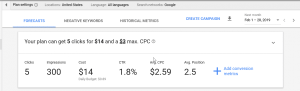 Google Keyword Planner Free - How to Get Search Volume and Keyword Data 18