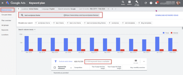 Google Keyword Planner Free - How to Get Search Volume and Keyword Data 12