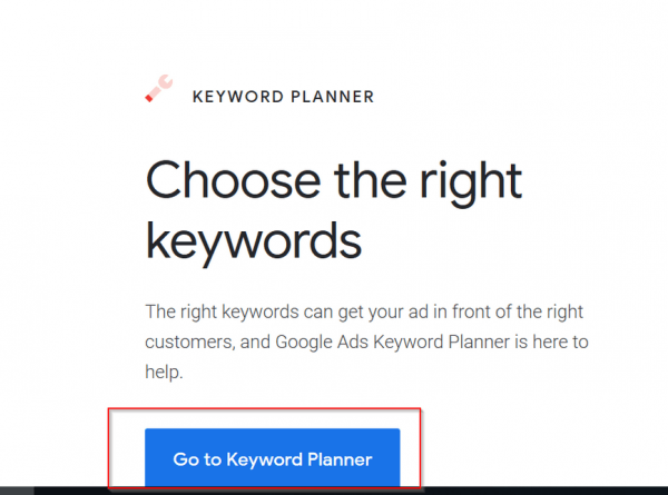 Google Keyword Planner Free - How to Get Search Volume and Keyword Data 4