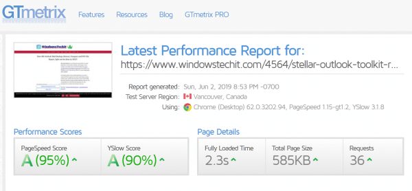 WP Rocket Review : A Grade Score in GTMetrix, Pingdom and PageSpeed Insights 2