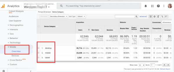 Google Analytics Guide for Beginners – 8 Basic Reports for WebSite Analysis in 2019 5