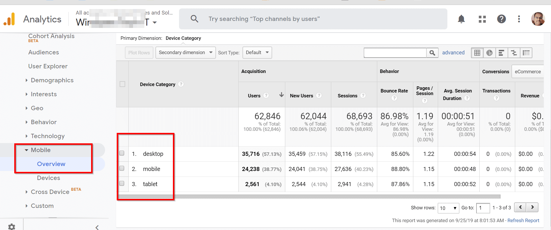 How to View Device Type Data in Google Analytics