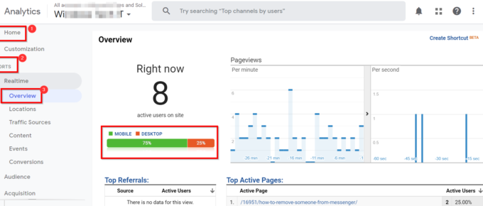 How to View Real Time Traffic Data in Google Analytics