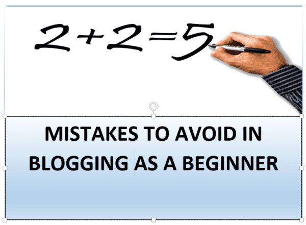 Blogging for Beginners – 5 Mistakes to Avoid in 2020 45